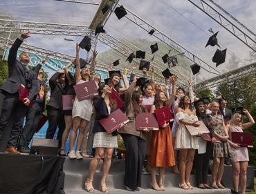 Pożegnanie absolwentów kierunków anglojęzycznych