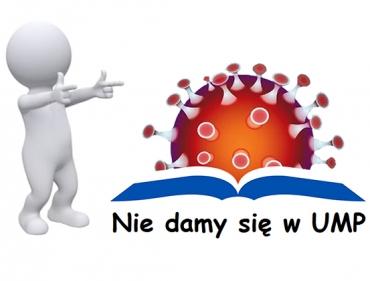 Nie damy się w UMP. Dziennik stanu epidemii koronawirusa