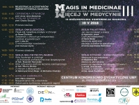 "III Ogólnopolska Studencka Konferencja Naukowa ""Magis in Medicinae"""