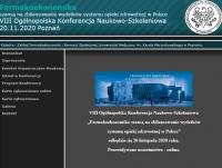 """VIII Ogólnopolska Konferencja Naukowo-Szkoleniowa """"Farmakoekonomika szansą na zbilansowanie wydatków systemu opieki zdrowotnej w Polsce"""""""